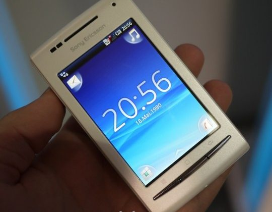 Xperia X8 Android 2.1 update rolling out now
