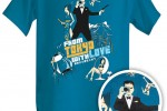 ThinkGeek Electronic Spy Shirt takes pics 007 style