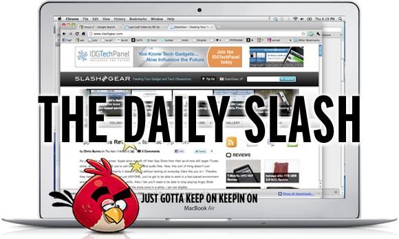 The Daily Slash: November 11 2010