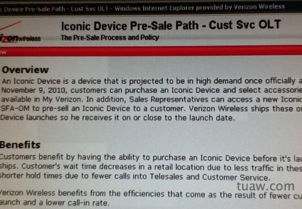 "Verizon ""Iconic Device"" due Nov 9: CDMA iPhone 4 or Motorola DROID Pro? [Updated]"