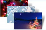 Microsoft offers up festive Christmas Windows 7 themes