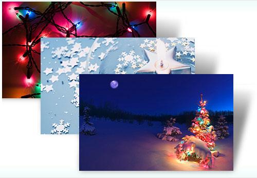 Microsoft offers up festive Christmas Windows 7 themes