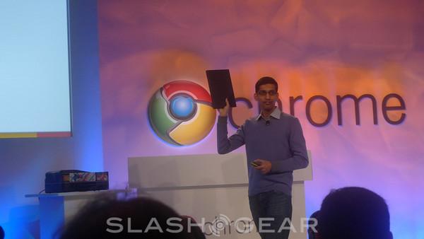 Google announces chrome notebook pilot program