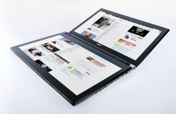 Acer Iconia dual-touch laptop arrives UK on Jan 14 2011 for £1,499