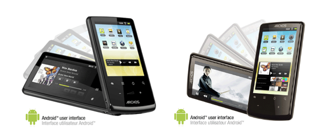 Archos 28 and 32 PMPs Available Now