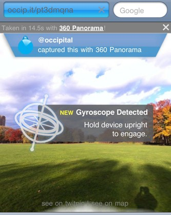 Occipital Finds Augmented Reality Capabilities Within Mobile Safari for iOS 4.2