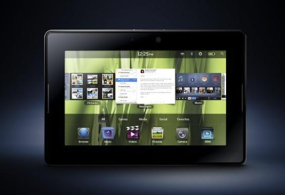 "BlackBerry PlayBook ""best platform for the application"" says Lazaridis; no QNX phones until dual-core mobile CPUs"
