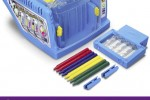 Crayola Crayon Maker Recycles Your Crayons, Jumbles Colors Together