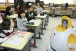 Engkey Egg-Shaped Robot Teaches South Korean Students English