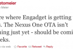 Nexus One Gingerbread OTA Update Due in a Few Weeks