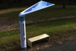 Hydroleaf Shelter Collects and Purifies Water, Acts as Bus Stop
