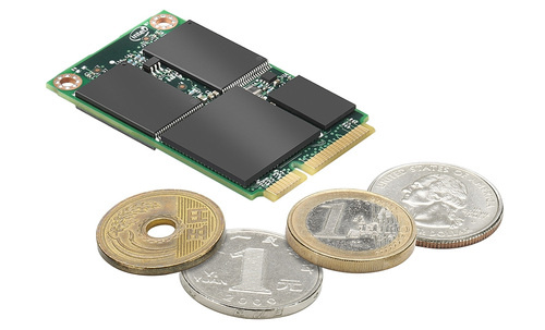 Intel 310 Series SSDs Weighs the Same as Two Nickels, Doesn't Slack on Features