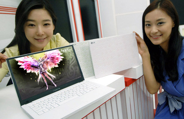 LG Xnote P210 Notebook Unveiled