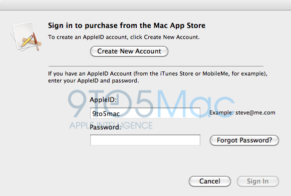 Mac App Store details and pics surface
