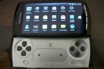 Playstation Phone in Two Clear Hands On Closeup Videos