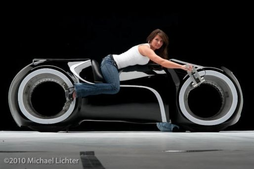 Parker Brothers Choppers Creates 10 TRON: Legacy Light Cycles, Only 4 Left [Video]