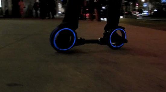 TRON Skatecycle is DIY Treasure [Video]