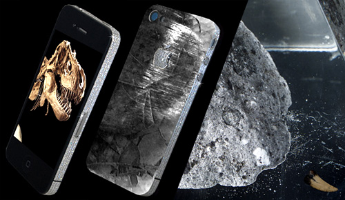 Custom iPhone 4 Features Diamonds and T-Rex Tooth, Costs $62,700