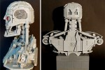 T-800 Terminator Bust Made from LEGO