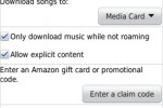 Amazon MP3 for BlackBerry released for OTA music downloads