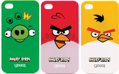 Gear4 offers Angry Birds cases for iPhone 4