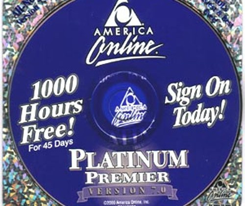 90's AOL discs cost AOL about $35 per subscriber
