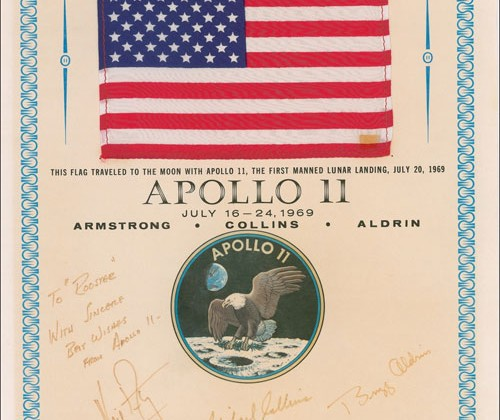 Space history being auctioned off by RR Auction