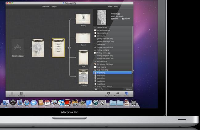 Apple takes on Adobe Flash with free iAd Producer tool