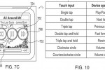 Apple file iPod nano patent for screen-off gesture controls