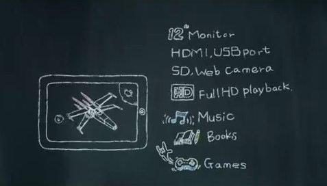 ASUS Eee Pad E121 makes video tease: 12″ Core i5 Windows 7 slate