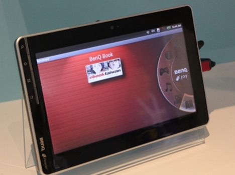 BenQ R100 slate bringing 12hrs of Android in Q1 2011