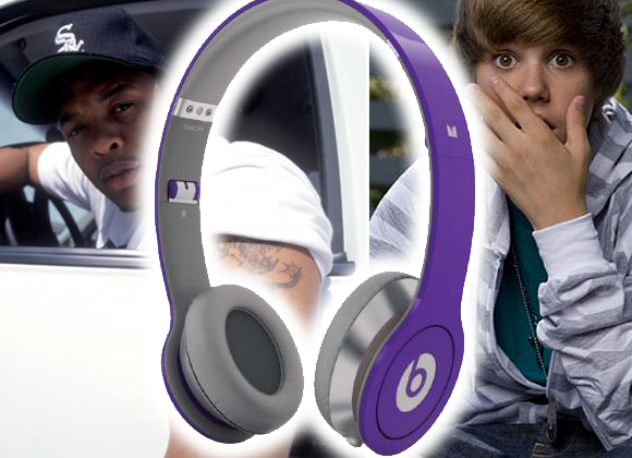Dr Dre's Beats Headphones Go Bieber