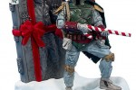 Boba Fett Christmas ornament and other geeky decorations