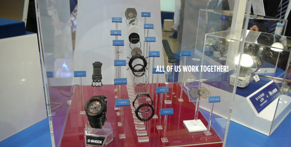 Solar Powered Watches Updated by Casio at ECO Product 2010