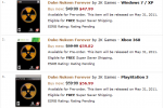 Duke Nukem Forever pre-orders taken for May 31 2011 release