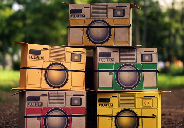 Flutter in Pinhole pop-up camera concept has instant appeal [Video]