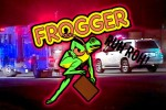 Real Life Frogger Goes Ever So Slightly Bad