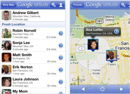 Google Latitude hits App Store again
