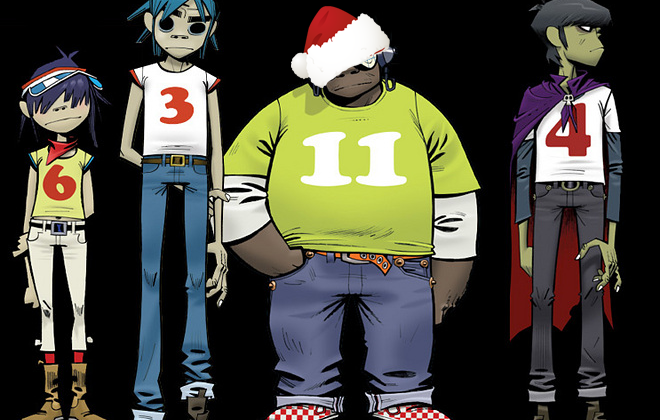 Gorillaz to Release FREE Album on Christmas Day, Entirely Recorded on iPad