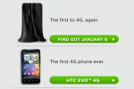 HTC 4G LTE smartphone teaser revealed: HTC Incredible HD on Jan 6 2011?