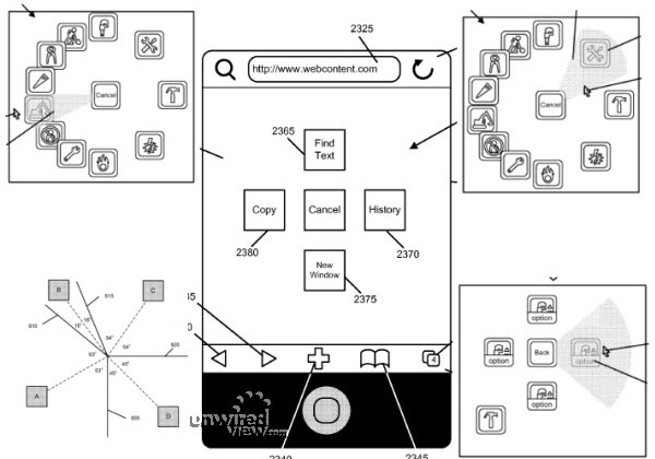 Apple Patent Application Suggests Pop-Up Radial Menus Could be Included in iOS 5
