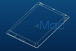 iPad 2 Case Mold Drawings Show Tapered Edges and Contoured Back