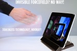 Elliptic Labs Reveal Touchless iPad via TGUI Stand