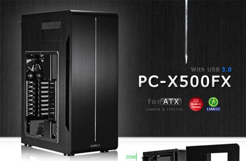 Lian Li unveils new PC-X500FX computer chassis