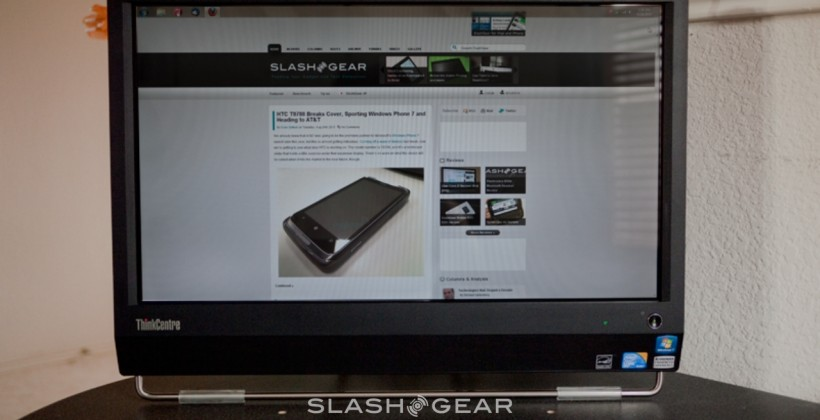 SlashGear Lenovo ThinkCentre M90z Giveaway