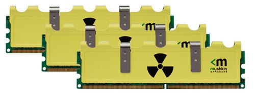 Mushkin adds more RAM kits to cool Radioactive line