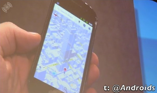 Google Maps 5.0 gets Nexus S video demo
