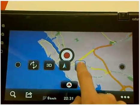 Notion Ink GPS mapping app demo released [Video]