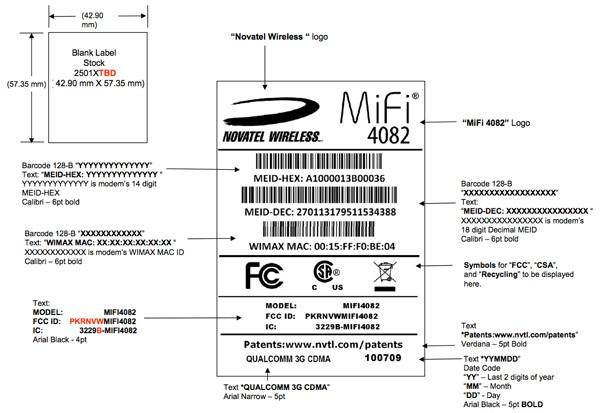 Novatel MiFi 4082 WiMAX mobile hotspot clears FCC
