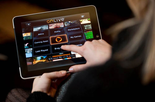 OnLive launches game spectating on iPad along with Windows 7 apps